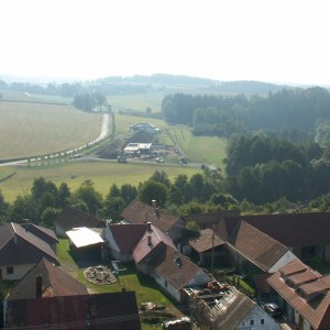 Pohledy z věže kostela