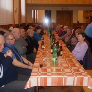 Setkání důchodců 9. února 2014