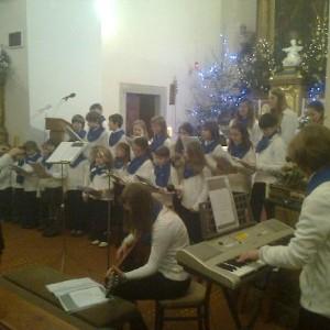 Vánoční koncerty dětského pěveckého sboru